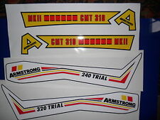 Armstrong CCM tank & s/panel decals-Twinshock Trials