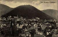BAD HARZBURG Postkarte u. Stempel 1924 AK Blick v. Butterberg alte Ansichtskarte