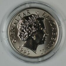 1999 Gibraltar Millennium 2000 Unciruclated 5 Pound Coin  *See Description*