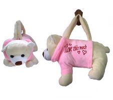 1pc Cute Soft Animal Baby Girl Boy Unisex Plush Toys Handbags Bag Toys Bear