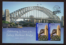AUSTRALIA 2007 SYDNEY HARBOUR BRIDGE MS OPT. SBERATEL, PRAGUE  UM, MNH