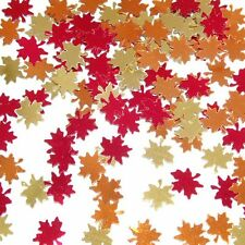 Beistle 90630 Fanci-fetti Autumn Leaves Pack of 12