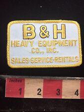 B & H Heavy Equipment Co. Inc. Advertising Patch 77WF