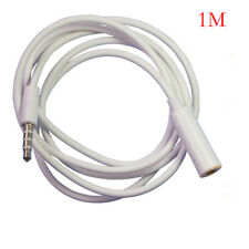1M 3.5mm Female to Male good F/M Headphone Stereo Audio Extension Cable Cord MP3