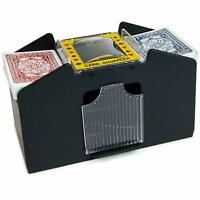 NEW CARDS SHUFFLER AUTOMATIC 4 SORTER CASINO PLAYING POKER ONE OR FOUR DECK