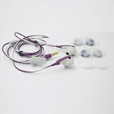 Genuine Bosse SIE2i In-Ear Only Headphones iPhone iOS - Purple