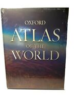 Oxford Atlas Of The World Eighteenth Edition Book New