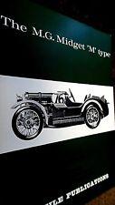 PROFILE PUBLICATIONS CAR #45: THE M.G. MIDGET 'M' TYPE (1966)