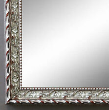 Spiegel Wandspiegel Badspiegel Flur Gsarderobe Barock Antik Brescia Silber  2,0