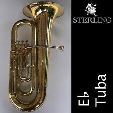 Eb TUBA • Top Quality STERLING SWTB-239 Tuba • Brand New • With Case •