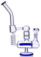 """10"""" Coil Recycler to HONEYCOMB PERC TO INLINE PERC BONG Water Pipe Hookah *USA*"""