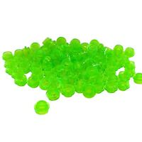 50 NEW LEGO Plate Round 1 x 1 Straight Side Trans-Bright Green