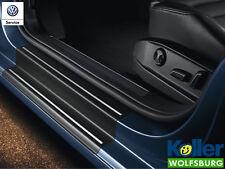Original Volkswagen VW Einstiegsfolie Schutzfolie schwarz silber Golf 7 4 türer