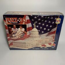 Sealed 1995 Puzz 3D Wrebbit Puzzle The Capital - BRAND NEW SEALED