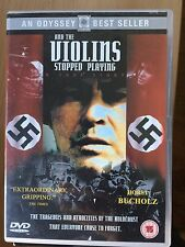 Horst Bucholz AND THE VIOLINS STOPPED PLAYING ~ 1988 Holocaust Drama | UK DVD
