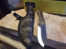 Couteau Buck BuckLite Max Acier 420HC Manche Abs Camo Etui Nylon USA BU673CMS32