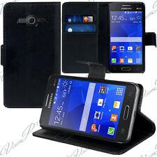 Etui Coque Housse Portefeuille Video NOIR Samsung Galaxy Core II/ core 2 Double
