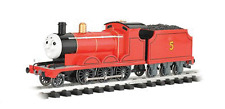 Bachmann #91403 G Scale James the Red Engine with Moving Eyes #5 Red