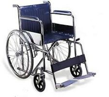 Invalid Folding Wheel Chair for Handicap or Medical Use with Fixed Arm Rest