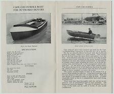 RARE - 1927 Advertising Trade CATALOG - Cape Cod Boats for Outboard Motors