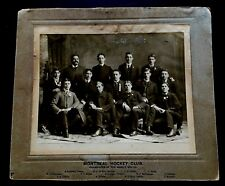 1901-02 Stanley Cup Champions Montreal Hockey Club M.A.A.A. Team Cabinet Photo