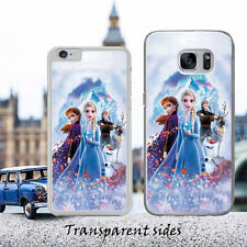 FROZEN II Elsa & Anne Characters Collage Phone Case Cover