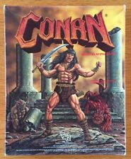 Conan Role Playing Game TSR 7014 Box Set Complete 1985 RARE