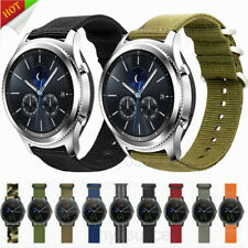Replacement Smart Watch Band Nylon Canvas Bracelet Wristband Strap Various 22mm