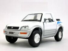 "New 5"" Kinsmart Toyota Rav4 Cabriolet Diecast Model Toy Car Concept 1:32 White"
