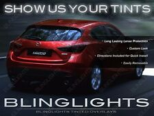 BlingLights Tinted Taillight Overlays Film Kit for Mazda3