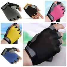 Sport Breathable Half Finger Bike Gloves Anti Skid Gel Padded Cycling Gloves New