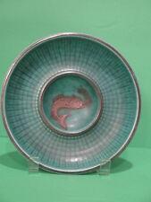 Gustavsburg Argenta Silver Overlay Fish Bowl Sweden