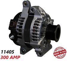 300 Amp 11405 Alternator NEW Toyota Sequoia Land Cruiser Lexus LX570 High Output