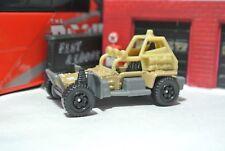 Matchbox Sahara Sweeper - Tan - Loose - 1:64 - Dune Buggy - Military