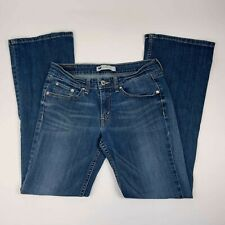 Levis 518 Jeans Size 7 28×32 Too Superlow  Bootcut Low Rise Womens