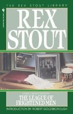 The League of Frightened Men by Rex Stout (Paperback, 1995)