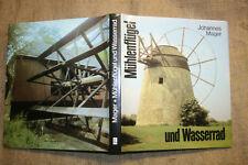 Fachbuch Mühlentechnik, Windmühlen, Wassermühlen, Müller, Mühle, DDR 1989
