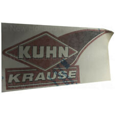 Kuhn Krause Wave 6 Left Hand Decal Part Q4033320