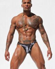 NWT Rare mens Rufskin Nas Cheeky Euro bikini swim brief thong swimsuit 30 32