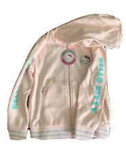 Sanrio Hello Kitty Shoe Palace Pink Kawaii Hooded Sweatshirt Child Large NWT