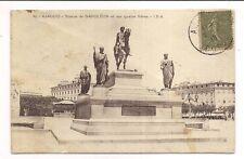 ajaccio , statue de napoléon et ses quatre frères