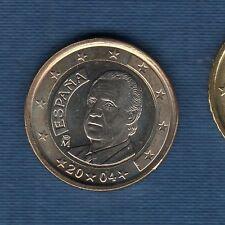 Espagne - 2004 - 1 euro - Pièce neuve de rouleau -