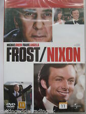 Frost / Nixon (DVD, 2009) NEW SEALED Region 2 PAL
