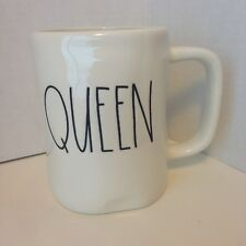 Rae Dunn QUEEN Mug / Cup Magenta Artisan Collection NEW Collect or Great Gift!