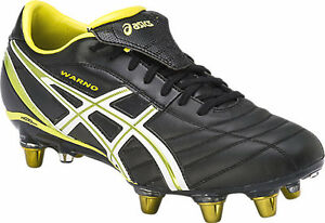 Brand New   ASICS LETHAL WARNO ST2 MENS FOOTBALL BOOTS (9030)