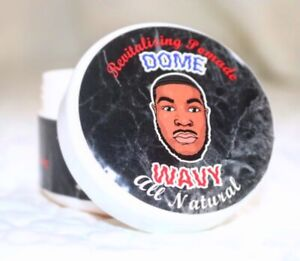 ALL NATURAL Hair Pomade with excellent hold AMAZING for waves and edges
