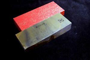 Japanese Natural Whetstone Shohonyama Takashima Karasu 30' Size 1547g Razor *F/S