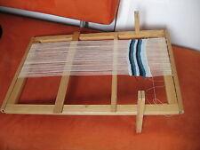 "vintage  Wooden Sweden tapestry  Weaving Loom 28"""