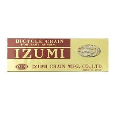 Izumi standard chain gold  - 1/2 x  1/8 links - single speed - fixie
