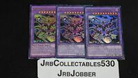 YUGIOH! CRIMSON NOVA TRINITY THE DARK CUBIC LORD MVP1-EN040 ULTRA 1st X3